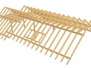 3D model krovu